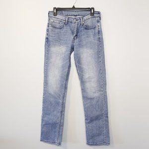 Levi's 514 Straight Fit Light Wash Jeans 29x32
